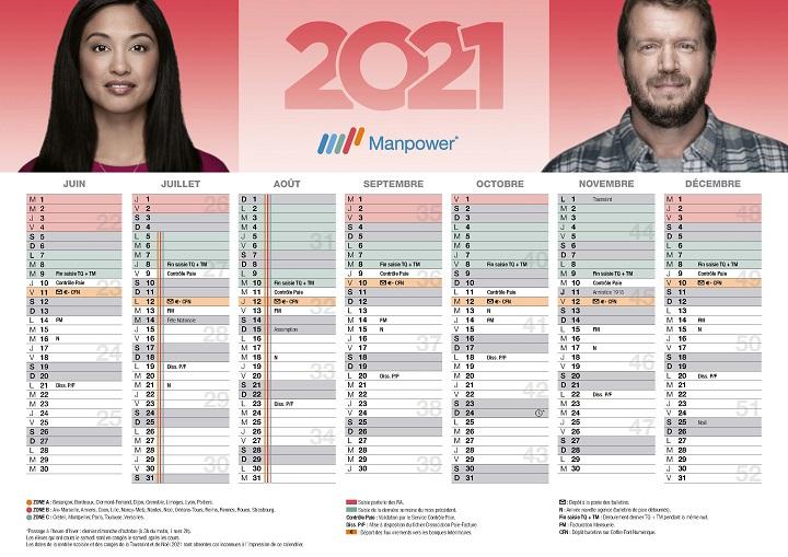 Calendrier Paiement Manpower 2022 Versement du salaire des intérimaire | Manpower fr